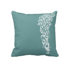 Peacock Feathers Pillows
