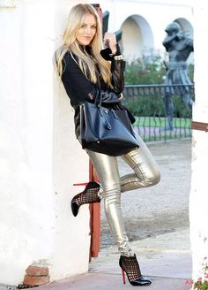 estilo-calca-metalizada