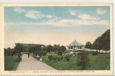 FARQUHAR PARK No 4 Arbor Ave York Pa Vintage Postcard Photographic