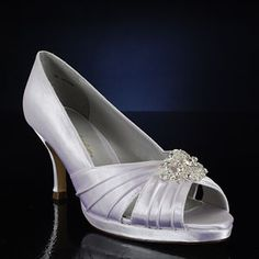 COLORFUL CREATIONS CC15730-PK WHITE Wedding and Bridesmaids Shoes WHITE Bridal Shoes