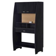 South Shore - Reevo Computer Desk - Black-onyx