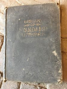 Antique Books Collier's Illustrated Library of Standard Authors Volume 2