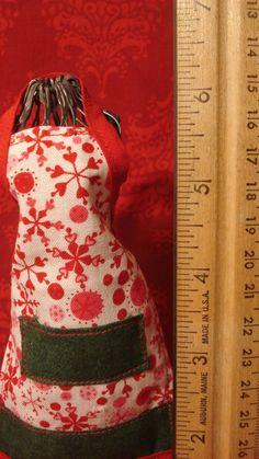 Mini Apron and Dress Form by #dteam #etsy TheGoodOleDays on Etsy, $15.00