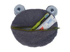 Kulturtasche-Frosch - bestellen - Herzkind - Online-Shop - faire Mode und Accessoires für Kinder & Familie - Berlin