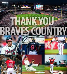 Thank you Braves fans for all of your support during the 2013 season!