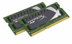 HyperX Plug n Play 16GB (2x8GB) Kit of 2 1600MHz PC3-12800 DDR3 Non-ECC CL9 SODIMM Notebook Memory KHX16S9P1K2/16 by Kingston. Save 54 Off!. $138.74. Kingston is the industry leader in PC memory. Our line of HyperX notebook memory is ideal for PC enthusiasts and gamers. You want the highest performance and speed you need HyperX memory from Kingston.  Included in package are two 8GB Modules of 1600MHz DDR3 Non-ECC CL9 XMP T1 Memory.  Specs include Standard 1G x 64 Non-ECC 1600M...
