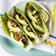 Heat-Free Lentil and Walnut Tacos from Choosing Raw