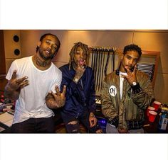 Roc Royal/Chresanto August  (no longer in Mindless Behavior) 2015 with Ty Dolla Sign and Wiz Khalifa