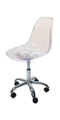 Gentil Clear Desk Chair