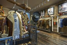 Nigel Cabourn's new store is inspired by Britain's military history and old army gyms.