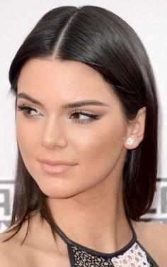 Kendall Jenner in Yigal Azrouël Spring/Summer 2014 – 2014 American Music Awards #AMAs #beauty #makeup #hair @robscheppy @esteelauder