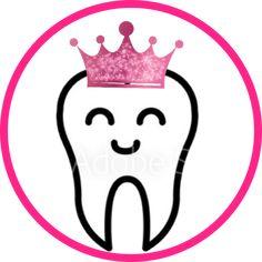 Tooth Clipart, Ferrero Rocher, Dental Hygienist, Hair Studio, Chocolate Covered Strawberries, Rock Crafts, Painted Rocks, Teeth, Badge