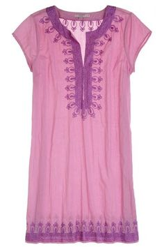 Ro Embroidered Cotton Dress | Calypso St. Barth