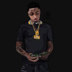 Youngboy Never Broke Again Rapper Art Nba Nba Wallpapers
