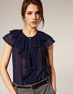 Asos. Obsessed with blouses!