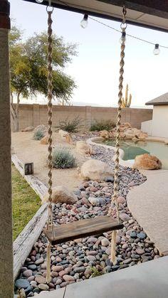 Backyard Patio Designs, Backyard Landscaping, Desert Backyard, Patio Ideas, Backyard Ideas, Yard Design, Pergola Ideas, Landscaping Ideas, Modern Landscaping
