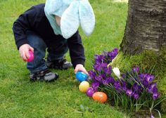 Attend an Easter egg hunt with your kids this spring