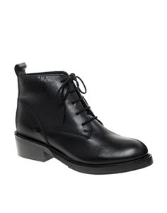 Image 1 - ASOS - ACRE - Bottines en cuir