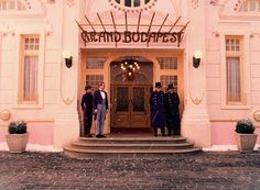 Still from The Grand Budapest Hotel, 2014