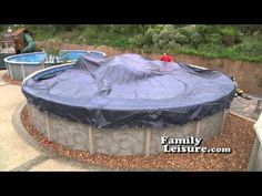 Tips and video on closing your pool for the winter