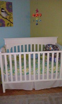 Crib Bedding by Miss Polly's Piece Goods  http://www.etsy.com/shop/MissPollysPieceGoods