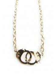 Golden Handcuffs Necklace  $12.00  Hilarious, I have these, but the cuffs are a little too big.