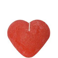 HEART Herzkerze    Form und Farbe sagen mehr als 1000 Worte. Sie entflammen Herzen mit dieser handgemachten, durchgefärbten Kerze. Brennzeit ca. 8 Stunden.    Größe: Breite 6 x Tiefe 6 x Höhe 3,5 cm  Material: Paraffin...