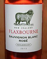 Flaxbourne Sauvignon Blanc Rosé 2013, Marlborough, Nieuw-Zeeland -