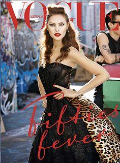 Catherine McNeil - Vogue Australia September 2010