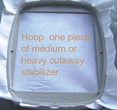 how to embroidery on toilet paper