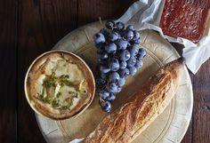 Baked Vacherin cheese from Nourish by Jane Clarke
