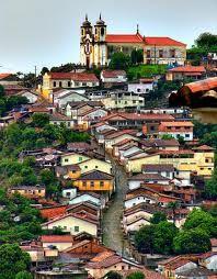 Ouro Preto, em Minas Gerais - Brasil