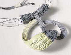 Lydia Hirte paper jewelry