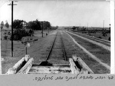Treblinka, Poland, Rail Tracks on the Former Site of the Camp