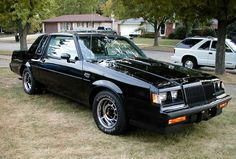 Buick Grand National - Front Right Pictures 1980 the car was looking for real muscle cars again especially for buyers of mid . Buick Regal, Buick Grand National Gnx, 1987 Buick Grand National, My Dream Car, Dream Cars, Muscle Cars, Buick Skyhawk, 2015 Buick, Pontiac Lemans