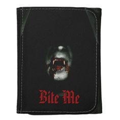 Bite Me Vampire Wallets