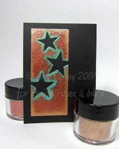 Heat and stick powder and pearl ex (from 2007)