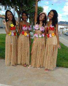 Como Fazer Uma Fantasia De Havaiana 5 Passos Em 2019