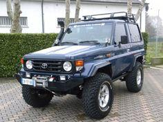 Toyota Land Cruiser HZJ 71 4.2D COMPLETAMENTE OMOLOGATO a 30.000 Euro | Fuoristrada | 23.000 km | Diesel | 96 Kw (131 Cv) | 08/2002