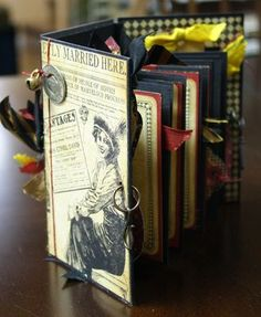 G45 mini book made with Joni Russell of Mrs. O'Learys in Wichita KS
