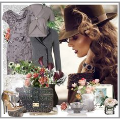 Dusa by dusa77 on Polyvore featuring мода, Poem, Vero Moda, Valentino, River…