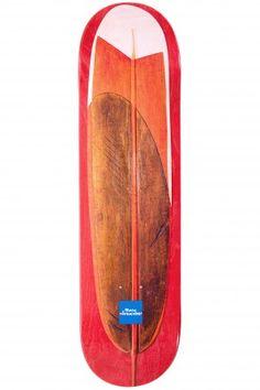 "Chocolate Johnson Hand Carved Boards 8.125"" Deck | #skatedeluxe #sk8dlx #skateboard #deck"