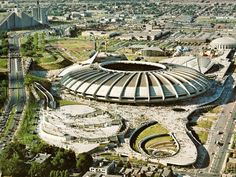 The stadium for the 1976 Montreal Olympic Games