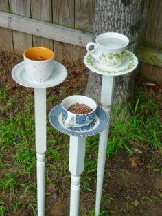 The Art Of Up-Cycling: Garden Ideas DIY-Cool Inspirational Random Funky Ideas For Gardens