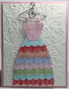 Birthday Stampin Up Dress Card