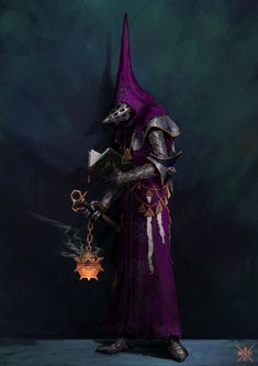ArtStation - Chaplain Knight, Erlend Capodanno