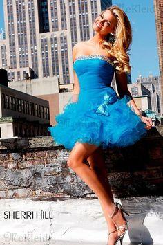 Tüll Aufgebläht Falte Mieder Gerade Mehrschichtige Kleider Trägerlos Abiballkleid