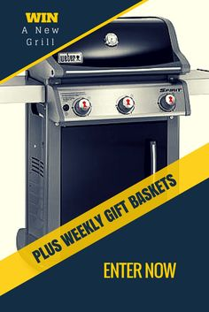 A Summer BBQ Checklist and a Chance To Win a New Grill!!