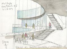 steven holl architects: visual arts building at university of iowa  - designboom | architecture & design magazine