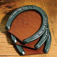 Horseshoe Coasters